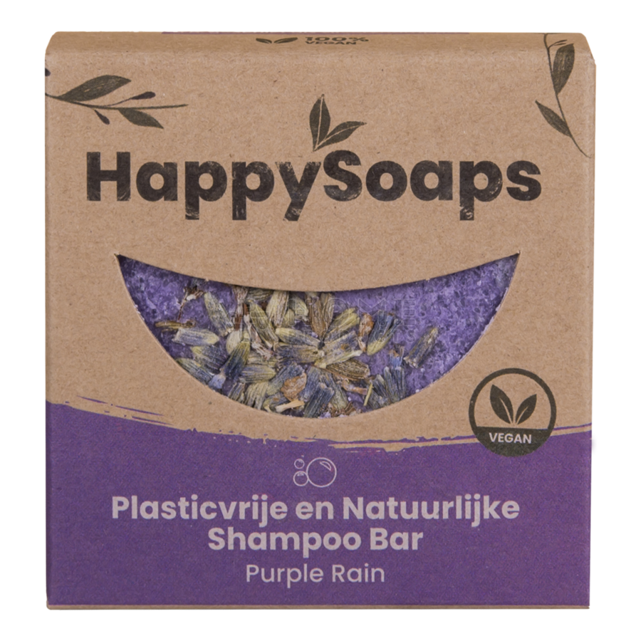 Purple Rain Shampoo Bar, 70 gram